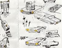 Magne-toi et dessine-moi une voiture.