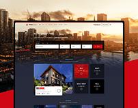 Sales Office Real Estate UI & UX Design - Web Design