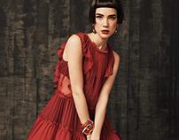 Fashion editorial for DIVA magazine