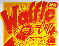 Vans Waffle Cup Buenos Aires Poster