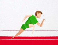 Tribute to Olympics 3D Animation