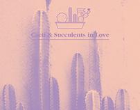 Cacti & Succulents in Love