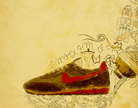 Nike Vintage / Illustration / Ghost campaign