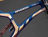Branch Bike TyroX5 Prototype