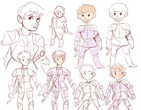 Knightman: Character Design