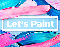 Let's Paint! Color Paint Strokes