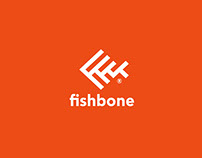 Fishbone Logo & Identity Design