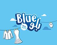 Blue Detergent   Logo & Package Design