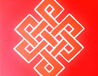 The Endless Knot #painting #canvas