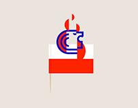 King Burger Branding / Logo Design