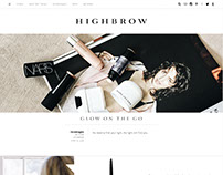 Highbrow.com Branding and Design
