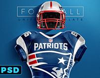 TouchDown Football Uniform Mockup