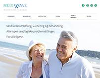 MediWave / Webdesign / Branding