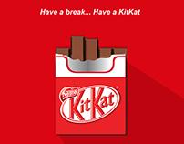 KitKat no smoking concept