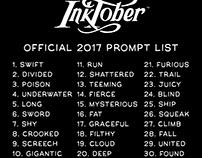 2017 Inktober complete Challenge.