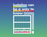 Isolation can be a way to know ourselves