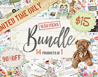 14 in 1 Bundle with 1650 Items