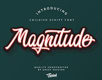 Magnitude Script Font