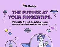 "GoDaddy - Infographic ""The Future"""
