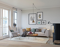 Scandinavian apartment. Order from Norway