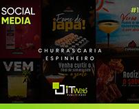 Social Media | Churrascaria e Pizzaria Espinheiro #1