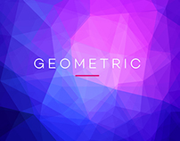 10 Geometric Backgrounds