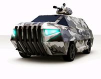 Military car design