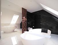 Bathroom Design . Częstochowa