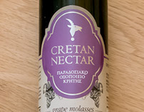 Cretan Nectar, visual identity & label design