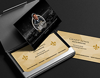Ministry Business Card Design