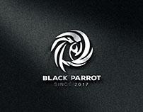 Black Parrot Logo