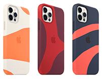 Compression Molded Apple Silicone Case Concept