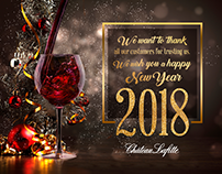 Château Lafitte Happy New Year 2018