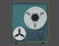 Reel to reel tape players