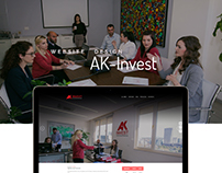AK INVEST - WEB DESIGN AND DEVELOPMENT