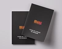 ORANJE - Guide de l'image de marque