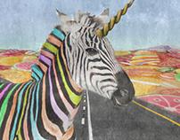 Just not an black-white zebra