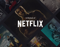 Netflix UI Restyle
