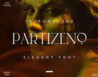 Partizeno Elegant/Branding Font