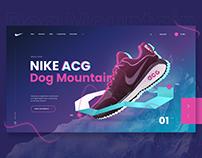 Nike Web Concept