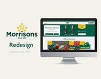 Morrisons UI/UX Redesign