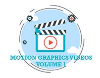 Motion Graphics videos volume1