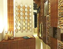 Foyer design For Noida basede client.