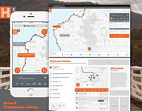 Trip planner webapp - UX/UI Case Study