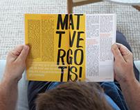 Student Typography Diary