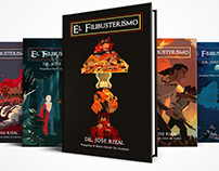 Collection of Redesigned El Filibusterismo Book Covers
