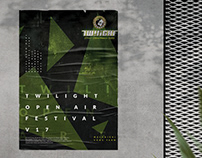 Twilight Open Air Festival v17 Concept Poster
