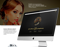 Corporate site for jeweler