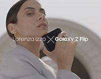 Lorenza Izzo X Galaxy Z Flip