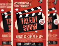Talent Show - Club A5 Template